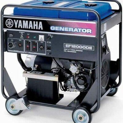 Yamaha EF12000D 12000 Watt 653cc OHV 4-stroke Gas Powered Portable Generator (CARB Compliant)
