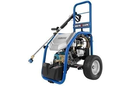 Yamaha PW3028A Pressure Washer 3000psi 192cc OHV-4-stroke engine