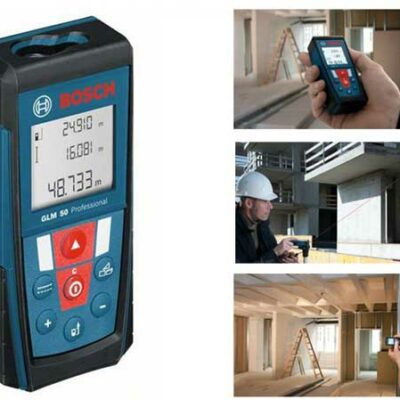 Bosch GLM-50 Laser Distance Measurer w/ 165 ft Range