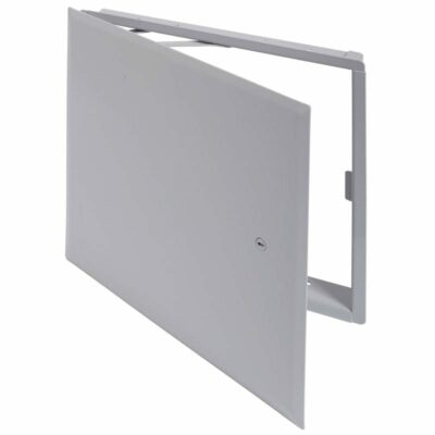 "Cendrex CTR14X14-10  14"" x 14"" Aesthetic Access Door/Panel, Concealed flange & hinge, Keyed #10 Lock, All surface types"