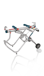 Bosch T4B Gravity-Rise Wheeled Miter Saw Stand