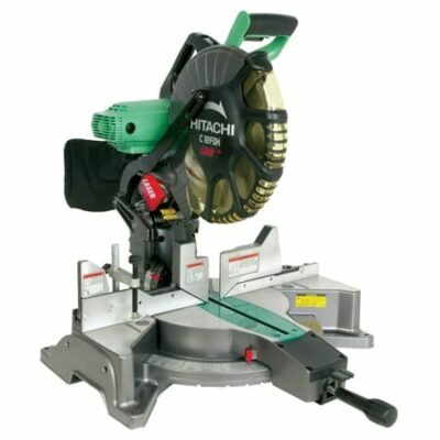 Hitachi C12FDH 15 Amp 12-Inch Dual Bevel Miter Saw with Laser