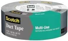 "3M 63738 SILVER 2979 DUCT TAPE 1.88"" X 60 YD. Multi Use"