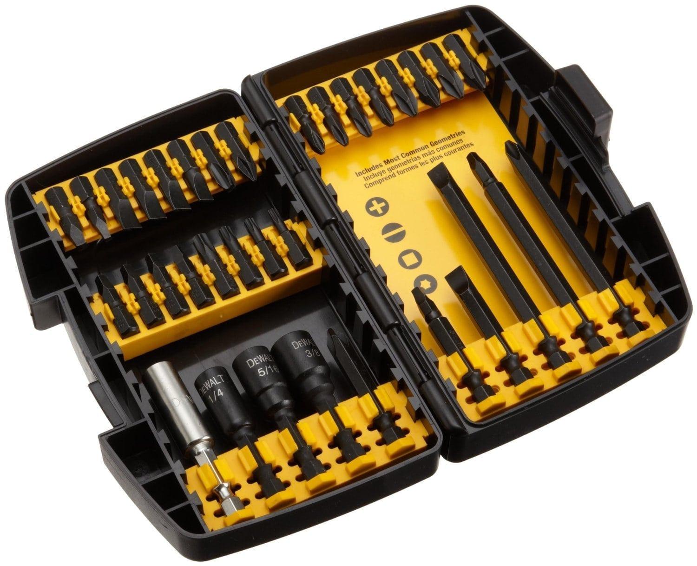 Dewalt Dw2153 34 Pc Impact Ready Accessory Set Tool