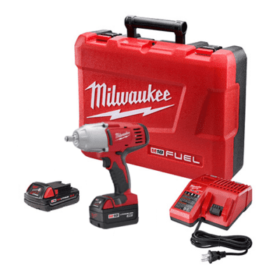 "MILWAUKEE 2763-22 M18 FuelTM High Torque 1/2"" Impact Wrench"