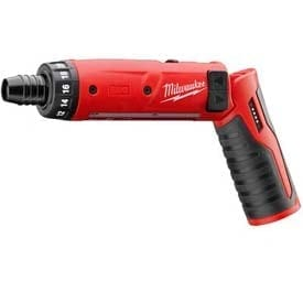 "Milwaukee 2101-22 M4™ 1/4"" Hex Screwdriver Kit with 2 Batteries"