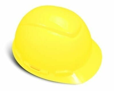 3M 64205 Bright Yellow Hard Hat