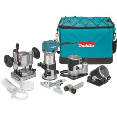 Makita 1-1/4 HP Compact Router / Laminate Trimmer Kit