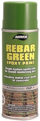 Aervoe 156 Rebar Green Coating Paint 16oz (12oz net)