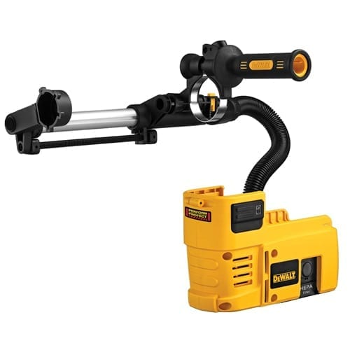 DeWALT D25302DH Dust Extraction System for 36V SDS Rotary Hammer W/ Hepa Filter