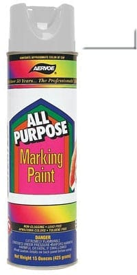 Aervoe 1387 White All Purpose Marking Paint 20oz (15oz net)