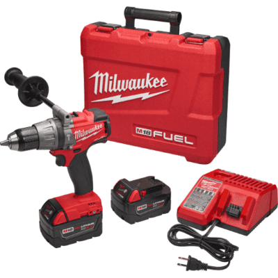 "Milwaukee 2704-22 M18 FUEL™ 1/2"" Hammer Drill/Driver Kit"