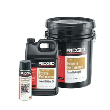 Ridgid 41600 Dark Threading Oil, 5 Gallons
