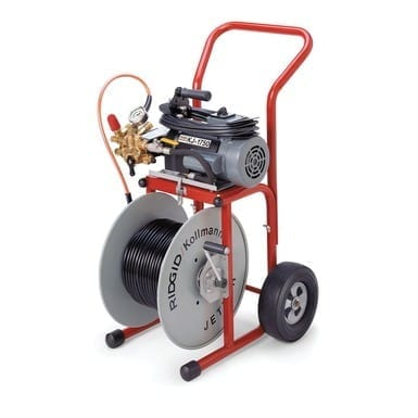 "Ridgid 62697 2.0 HP Water Jetter (w/ 110' x 1/2"" Jet Hose and Cart)"