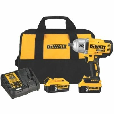 "DEWALT DCF899P2 20V MAX XR Brushless High Torque 1/2"" Impact Wrench Kit with Pin"