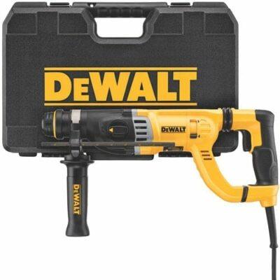 """DEWALT D25263K 8.5 Amp 1-1/8"""" D-Handle SDS Hammer Kit"""