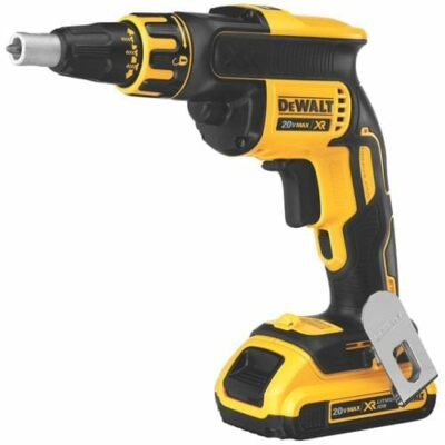 DEWALT DCF620D2 20V MAX* XR Li-Ion Brushless Drywall Screwgun Kit (2.0Ah)