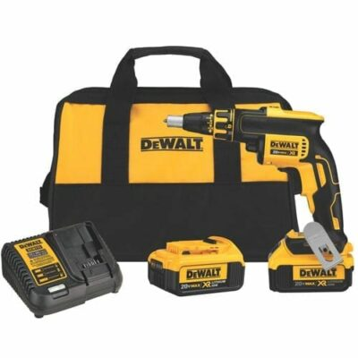 DEWALT DCF620M2 20V MAX XR Brushless Li-Ion Drywall Screwgun (4 Ah)