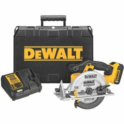 "DEWALT DCS391P1 20V MAX 6-1/2"" Cordless Circular Saw Kit"
