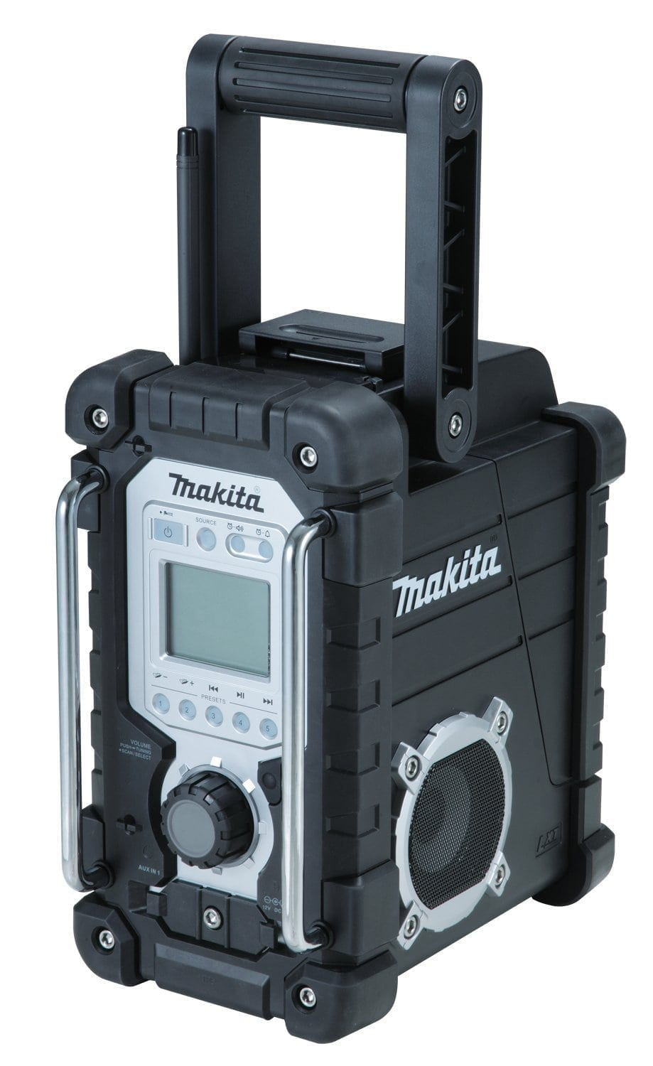 makita xrm04b 18v lxt li ion cordless am fm jobsite radio. Black Bedroom Furniture Sets. Home Design Ideas