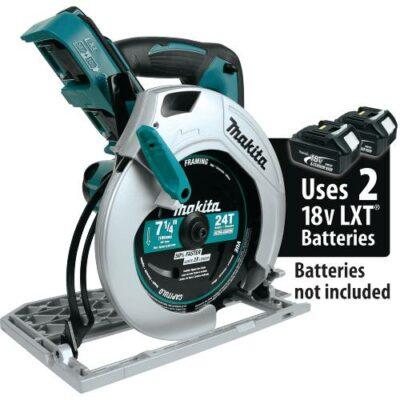 "Makita XSH01Z 18V X2 LXT® Lithium-Ion (36V) Cordless 7-1/4"" Circular Saw (Tool Only)"