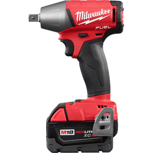 """Milwaukee 2755-22 M18 FUEL™ 1/2"""" Compact Impact Wrench w/ Pin Detent 2"""