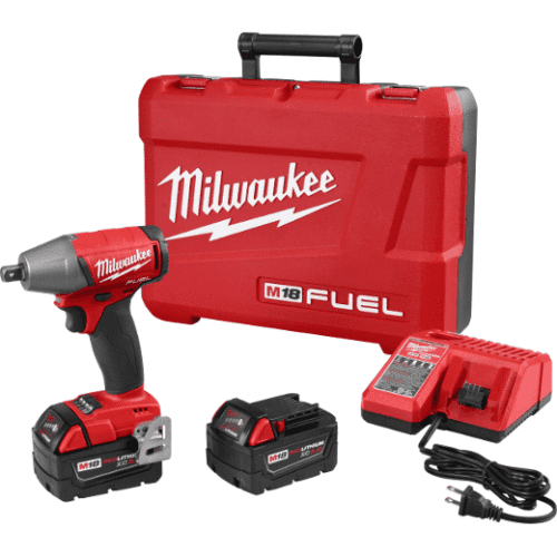 """Milwaukee 2755-22 M18 FUEL™ 1/2"""" Compact Impact Wrench w/ Pin Detent 1"""