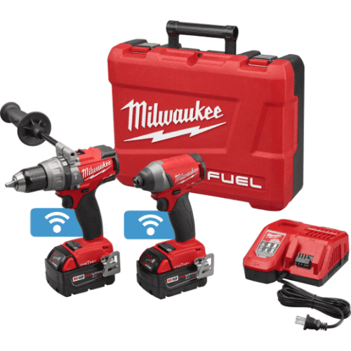Milwaukee (2795-22) M18 FUEL™ 2-Tool Combo Kit with ONE-KEY™ 1
