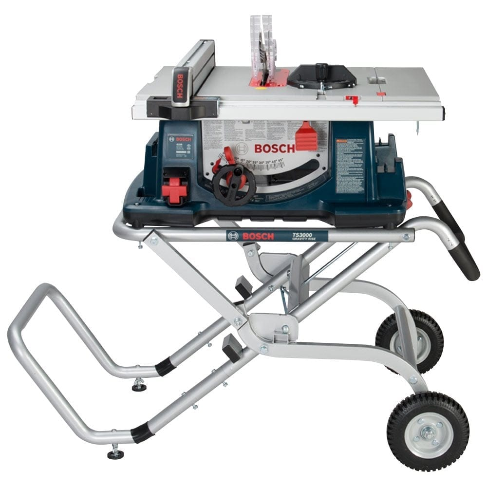 bosch 4100 09 10 worksite table saw with gravity rise wheeled stand tool authority. Black Bedroom Furniture Sets. Home Design Ideas