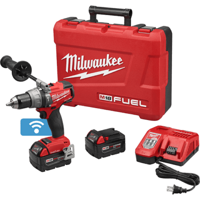 "Milwaukee (2706-22) M18 FUEL™ 1/2"" Hammer Drill/Driver with ONE-KEY™ Kit"