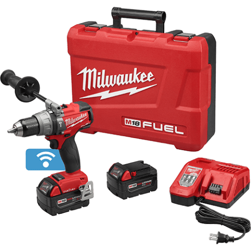 """Milwaukee (2706-22) M18 FUEL™ 1/2"""" Hammer Drill/Driver with ONE-KEY™ Kit"""