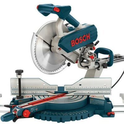 "Bosch 5312 12"" Dual Bevel Slide Miter Saw w/ Up-Front Controls"