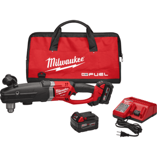 """Milwaukee 2709-22 M18 FUEL™ SUPER HAWG™ 1/2"""" Right Angle Drill Kit 1"""