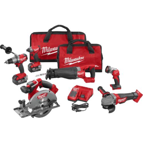 Milwaukee 2896-26 M18 FUEL™ 6-Tool Combo Kit 1