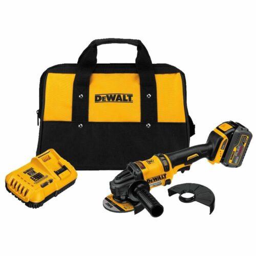 """DeWalt DCG414T1 4-1/2"""" - 6"""" 60V Angle Grinder Kit, 1 Battery w/ FlexVolt 3"""