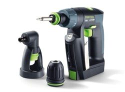 Festool 564274 CXS Compact Drill Driver Set w/ Right Angle Chuck