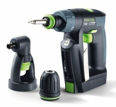 Festool 564274 CXS Compact Drill Driver Set w/ Right Angle Chuck