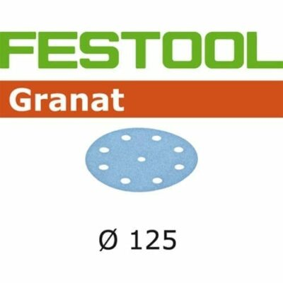 Festool 497172 P220 Grit, Granat Abrasives, Pack of 100
