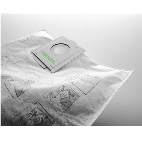 Festool 497539 SELF CLEAN Filter Bags for CT 48, 5-Pack
