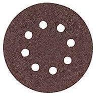 "Bosch SR5R040 5"" 8-Hole Sanding Discs Hook and Loop - 40 Grit 5pk 1"