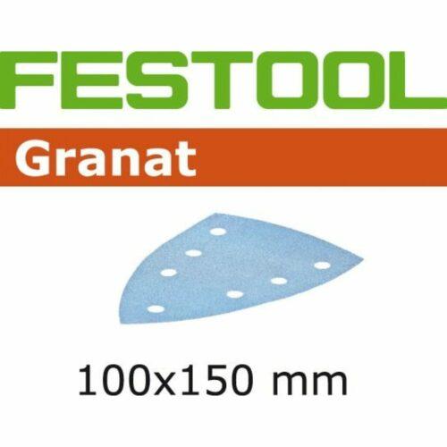 Festool 497138 P120 Grit, Granat Abrasives, Pack of 100