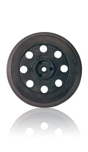 """Bosch RS031 5"""" 8-Hole Soft Backing Pad - Hook and Loop 1"""
