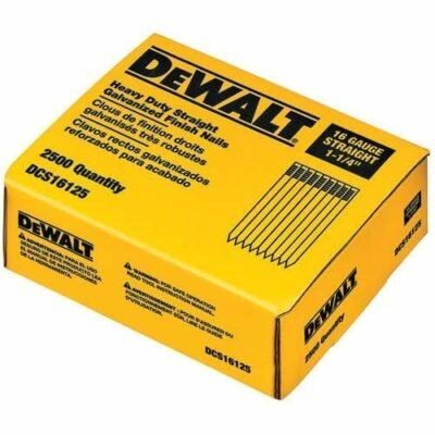 "DeWALT DCS16200 Straight Finish Nail 2"" (2,500)"