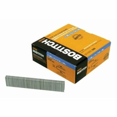 "Stanley Bostitch SL50351G 5/16"" Narrow Crown Staples Galvanized 1"" Length"