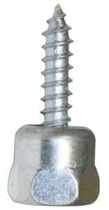 "Buildex 8002957 GST100 Sammy Wood Screw 1/4"" Rod X 1"" (25 Pack)"