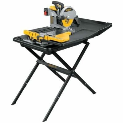 "DeWALT D24000S 10"" Wet Tile Saw With Stand"