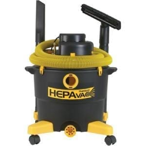 Diamond 22171 Technologies 16006 Hepa Vacuum 16 Gallon w/ 12ft Hose and Attachments