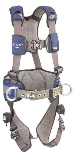 DBI 1113124 ExoFit NEX Construction Full Body Harness (Size M) w/ Back & Side D-Rings