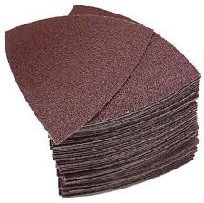Fein 6-37-17-082-01-1 60-Grit Hook and Loop Sandpaper Sheets for the MultiMaster - 50 Pack 1