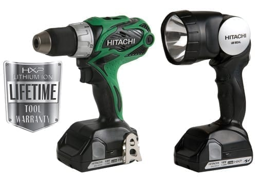 Hitachi DS18DSAL 18V 1.5Ah Lithium Ion Compact Pro Driver Drill